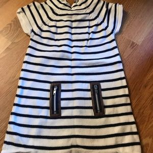 Other - Blue and white stripped sweater dress